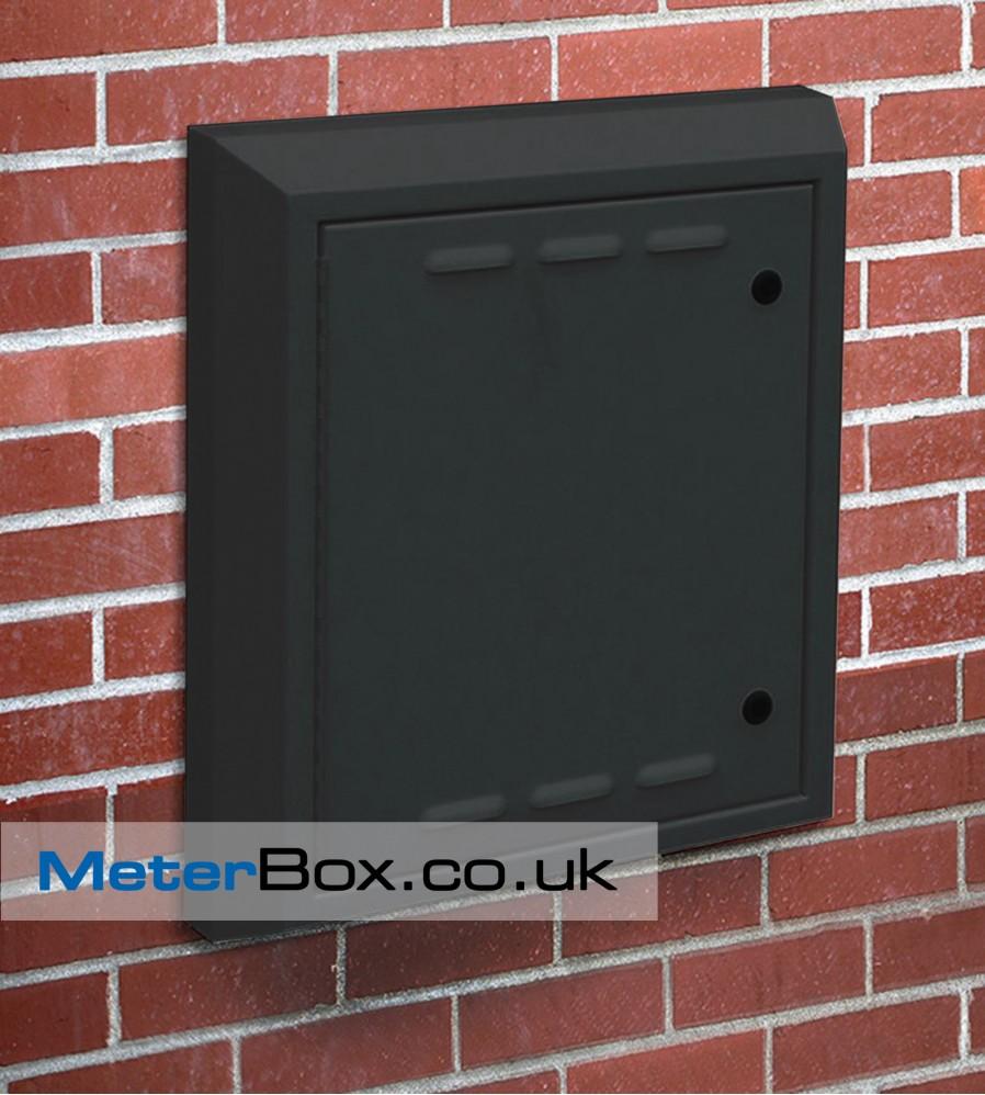 Letterbox Uk: Medium Extra Deep Replacement Meter Box Gas Door And Frame